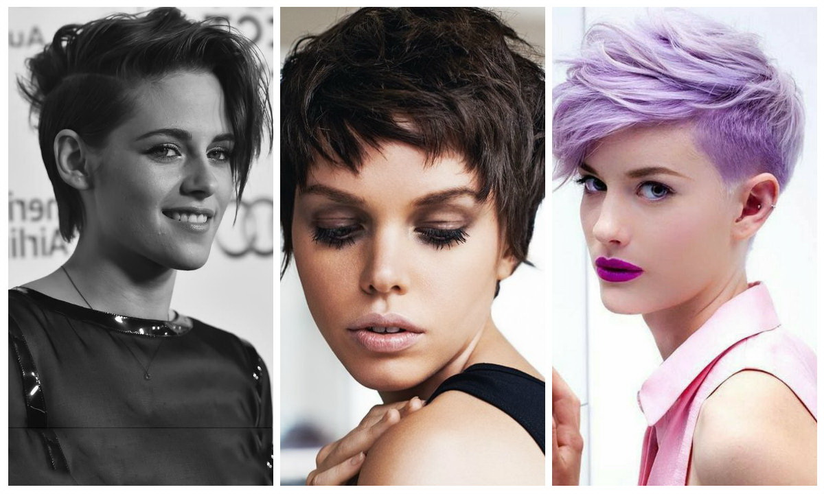 women Androgynous Haircuts