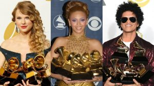 Artists who Won the Most Grammy Awards
