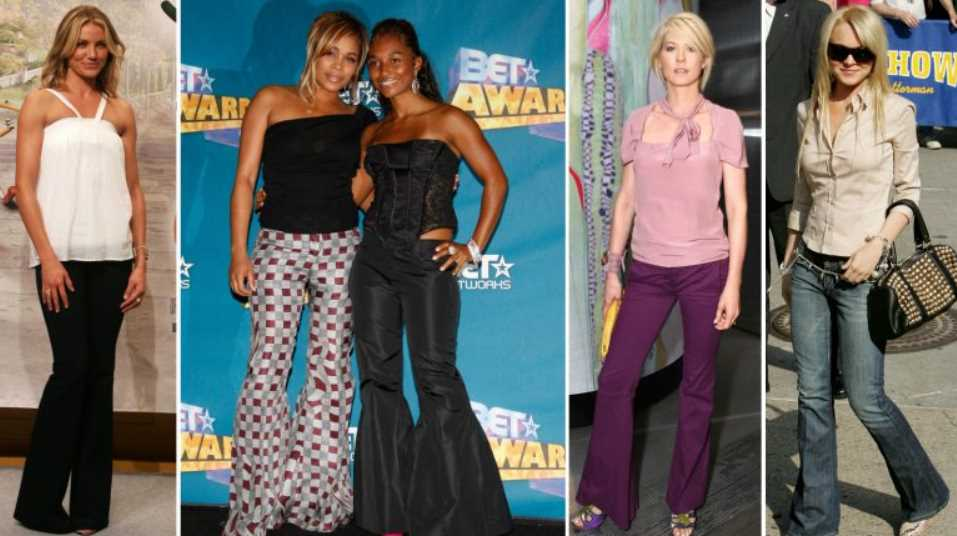 Bell-bottoms from the 2000s