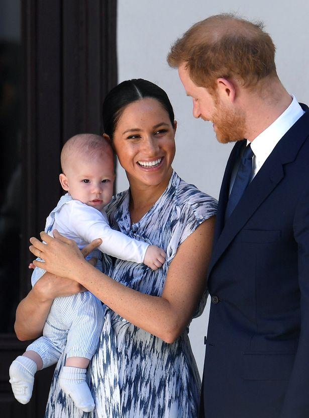 Meghan Markle and Archie were joined by Harry in Vancouver on Monday