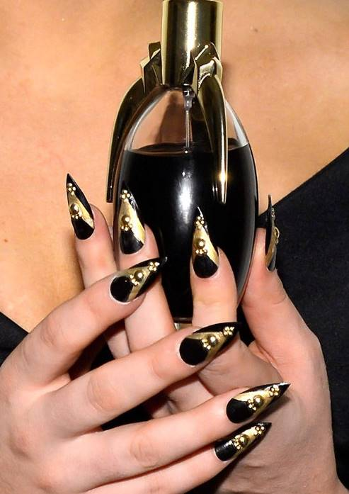 Lady Gaga nails
