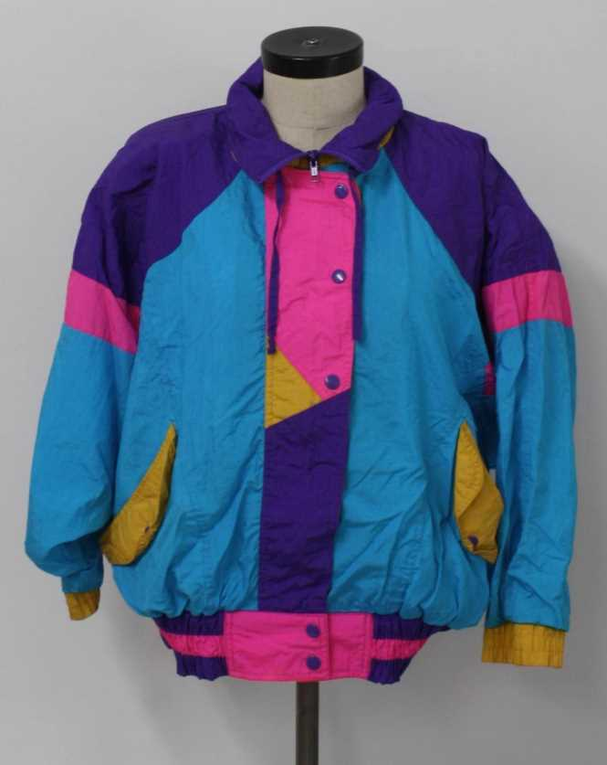 Oversized coats from the 1980s