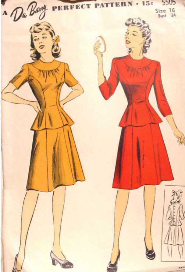 Peplum from the 1940s