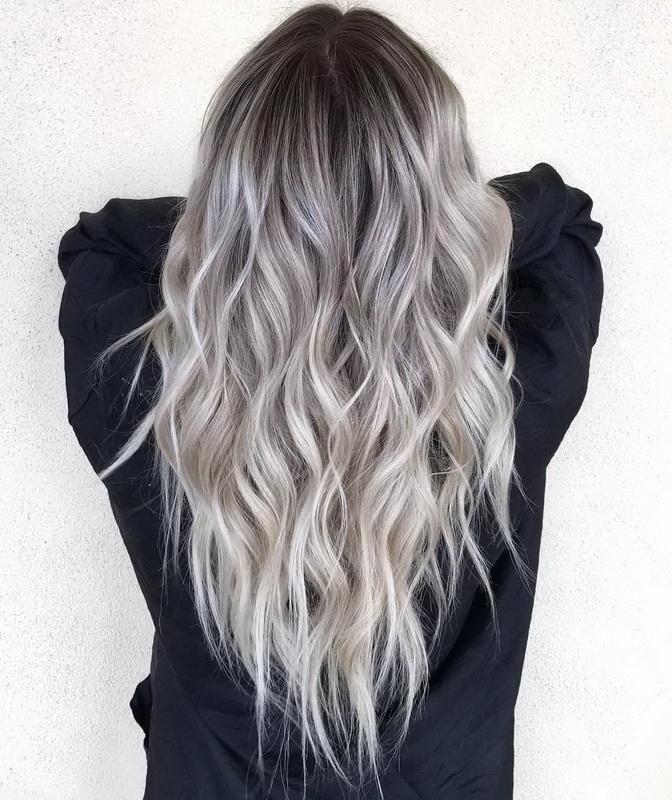 balayage on dirty blonde hair
