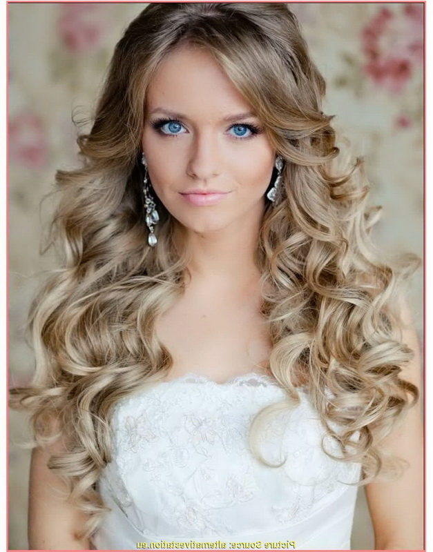 bride curly haircuts