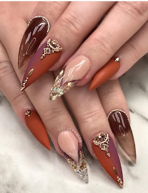 elgant long nails