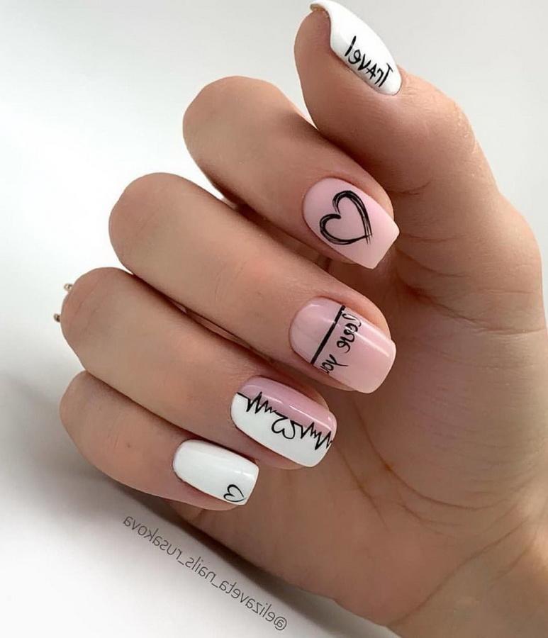 fancy love nails
