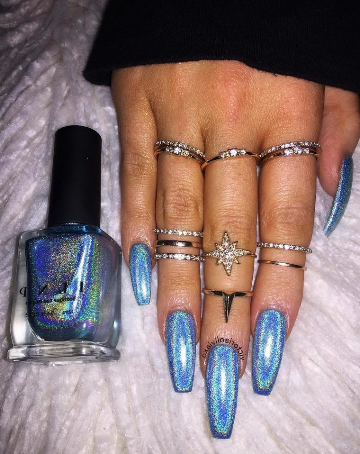 holographic glitter for nails