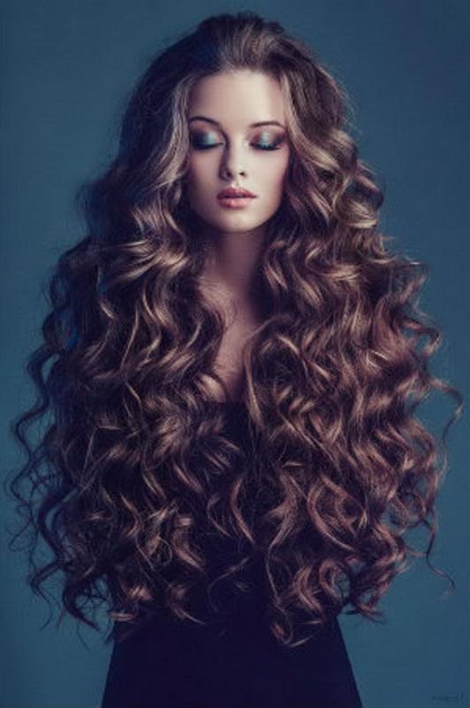 long hair curly haircuts