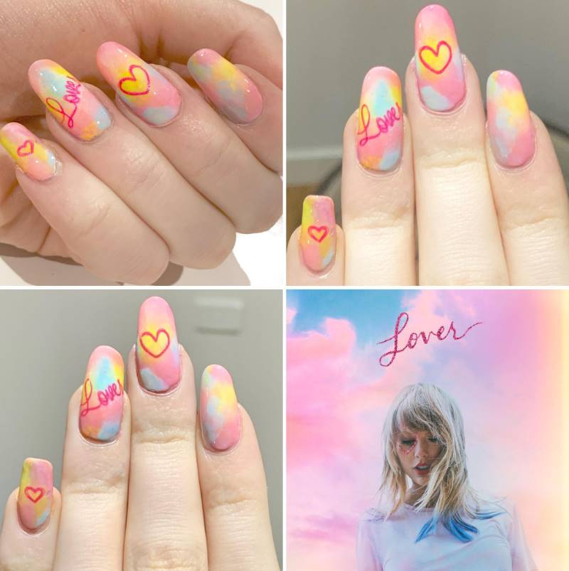 taylor swift nails