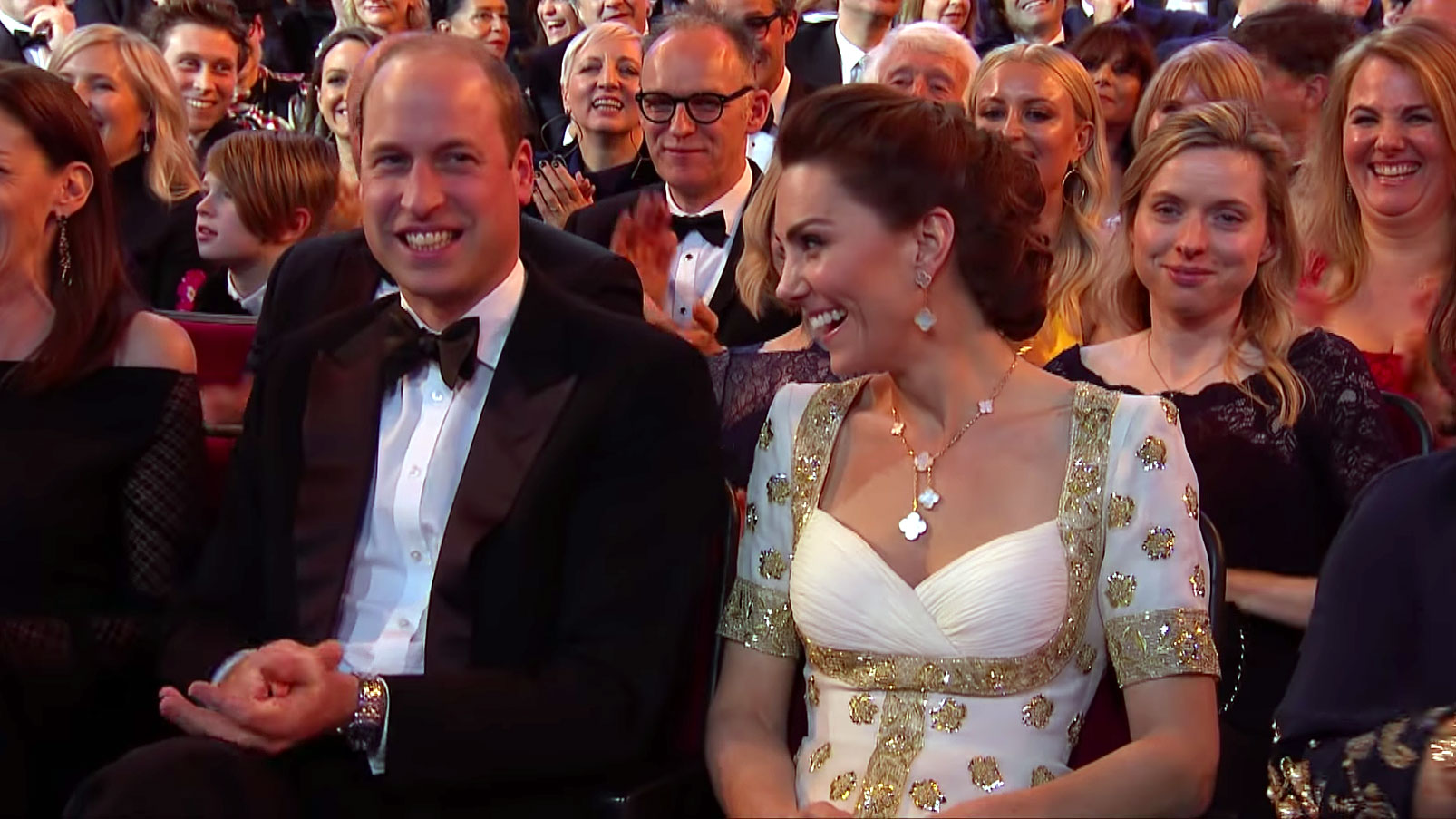 Prince William and Duchess Kate Reacted to Brad Pitt's BAFTA Awards 2020 Joke About Prince Harry
