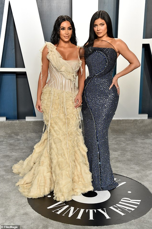 Sister act!In addition to attending the power couple's big bash, she also was at the Vanity Fairs Oscar party with her sister Kim Kardashian