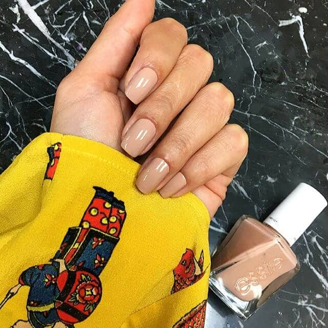 A Soft Cinnamon Nude For Natural Nails