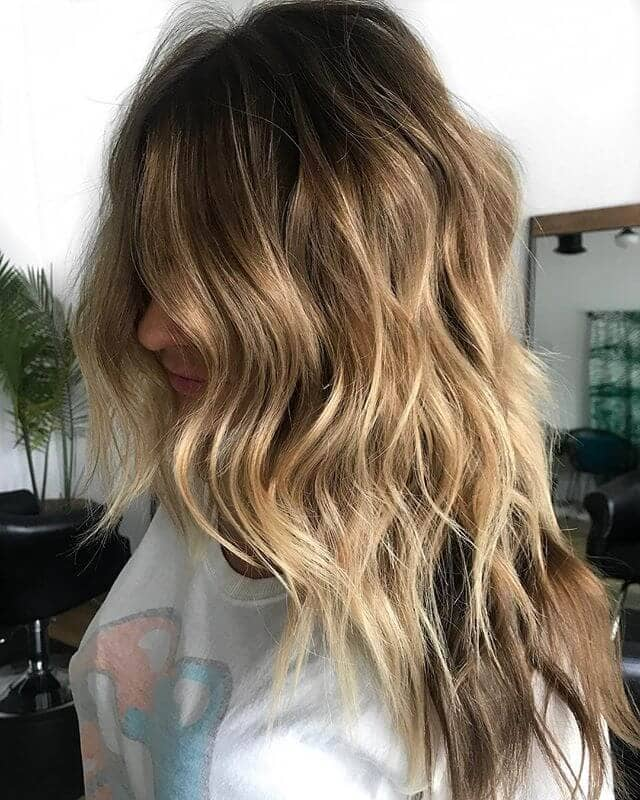 Long Highlights and Two-Toned Shaggy Layers