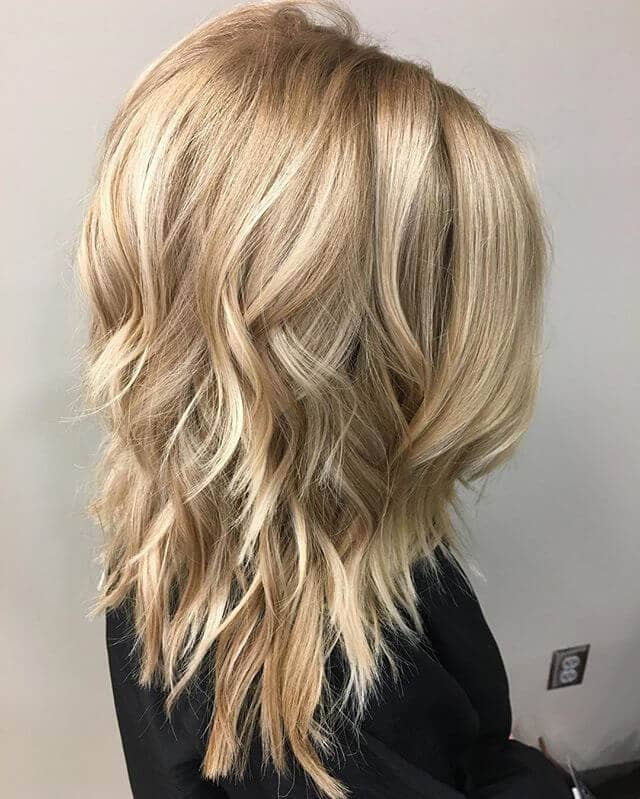 Modern Long Tiers with a Blunt Cut