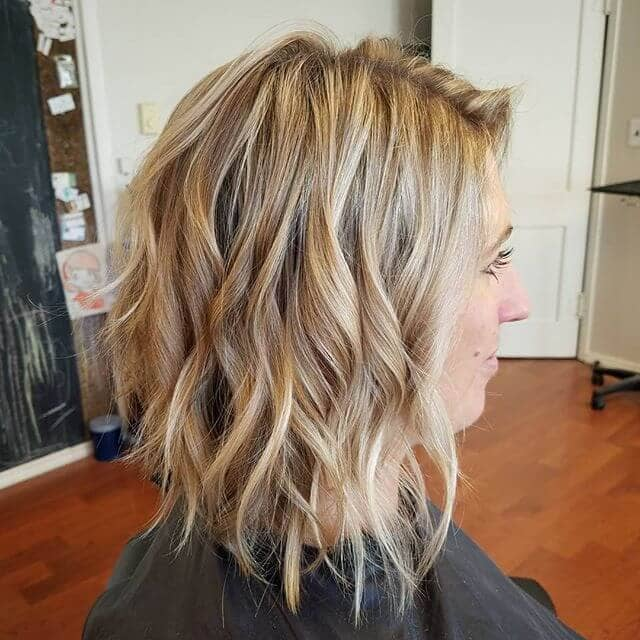 Shaggy Layers in Waves To the Shoulder