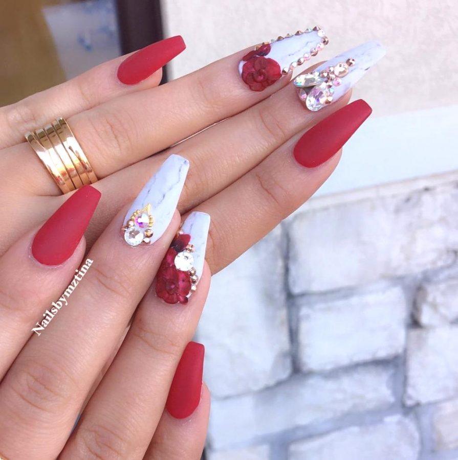 3D long nails