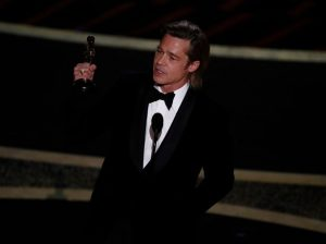 Brad Pitt commits his Oscar to his children in psychological approval speech