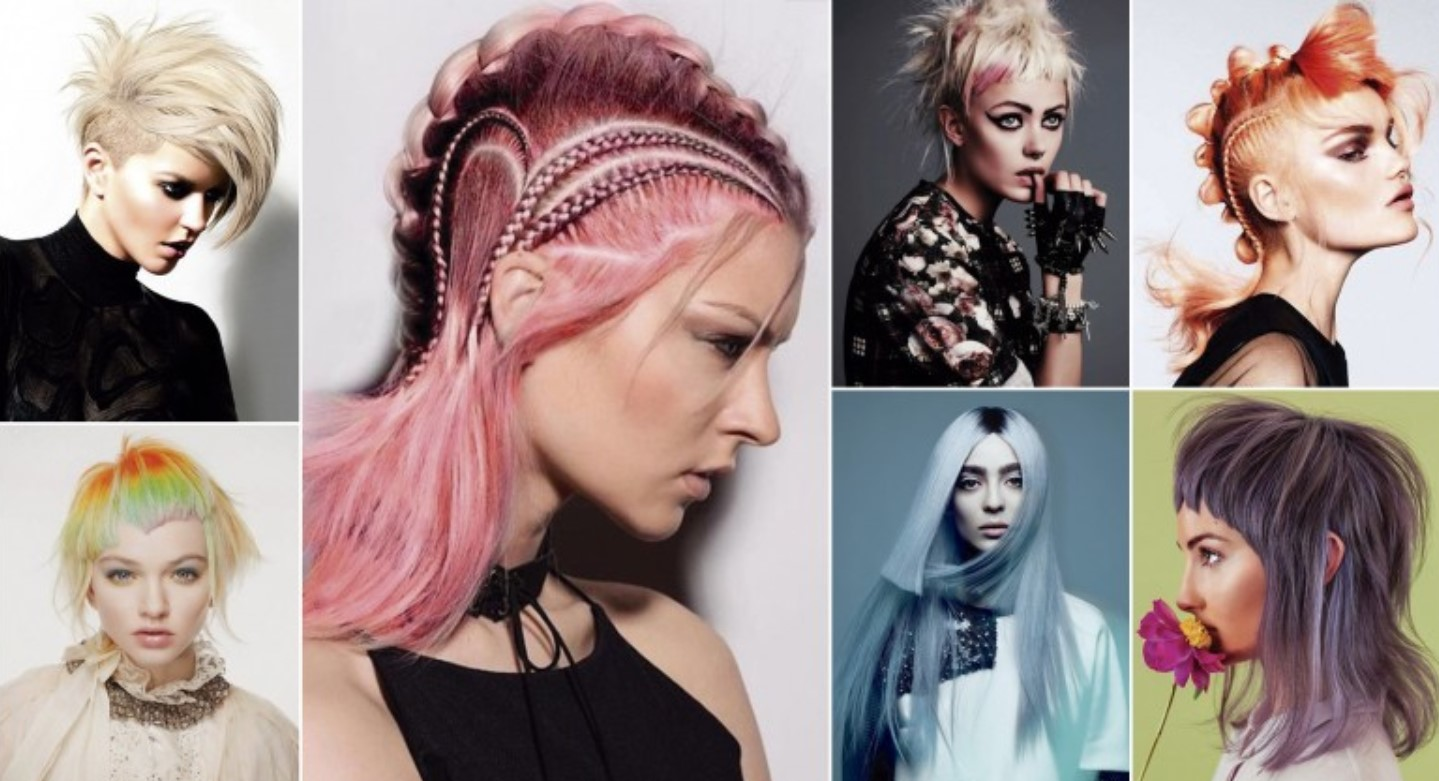 12 Cyberpunk Hairstyles for Women - Yve-Style.com