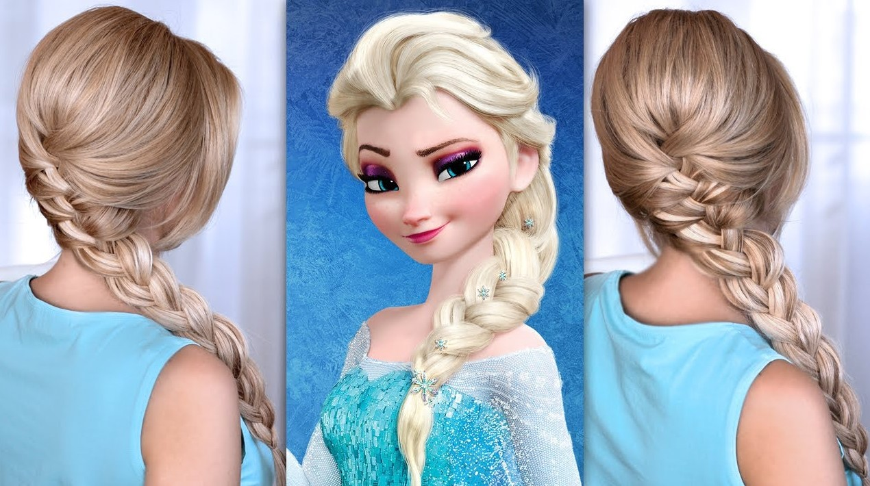 Elsa hairstyle