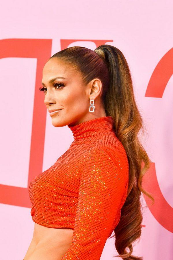 Jennifer Lopez long haircut