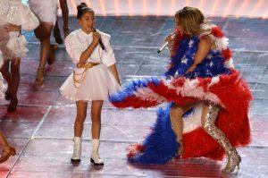 Jennifer Lopez's little girl Emme joins her for Super Bowl LIV halftime