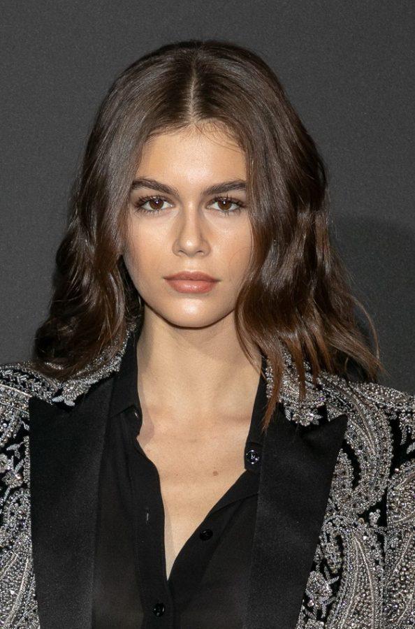 Kaia Gerber long haircut