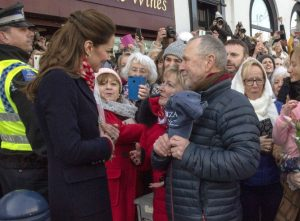 Kate Middleton Faces Her School Teachers While Checking Out Wales With Prince William