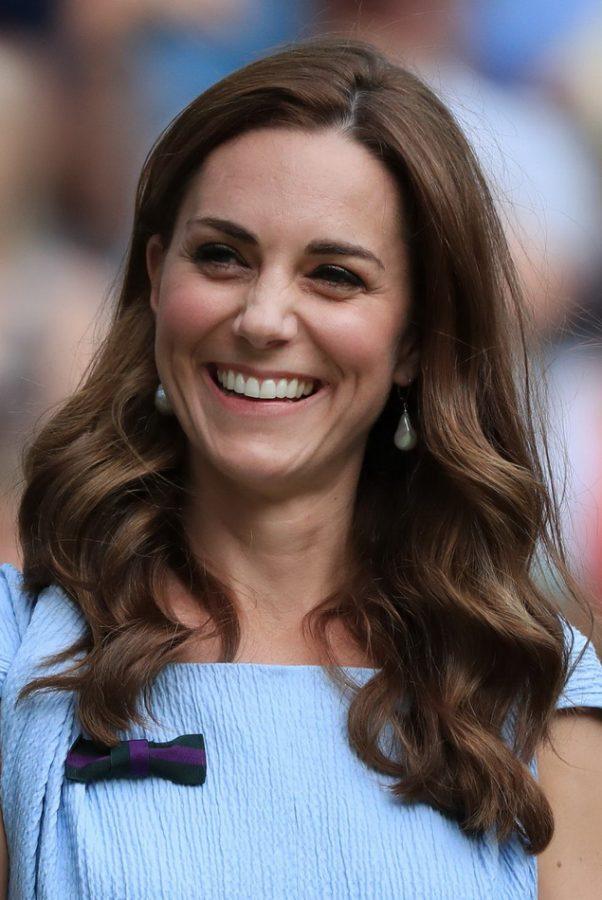 Kate Middleton long haircut