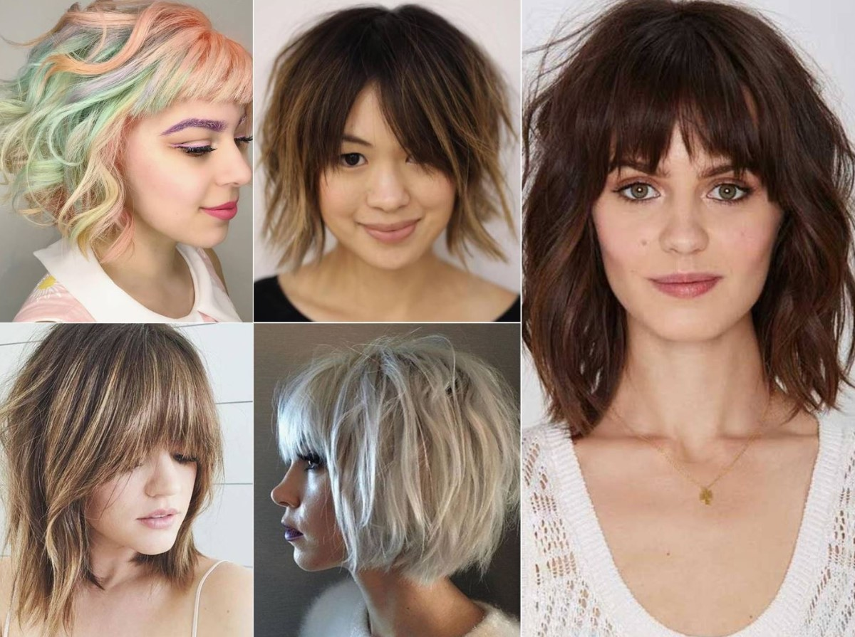 Layered haircuts