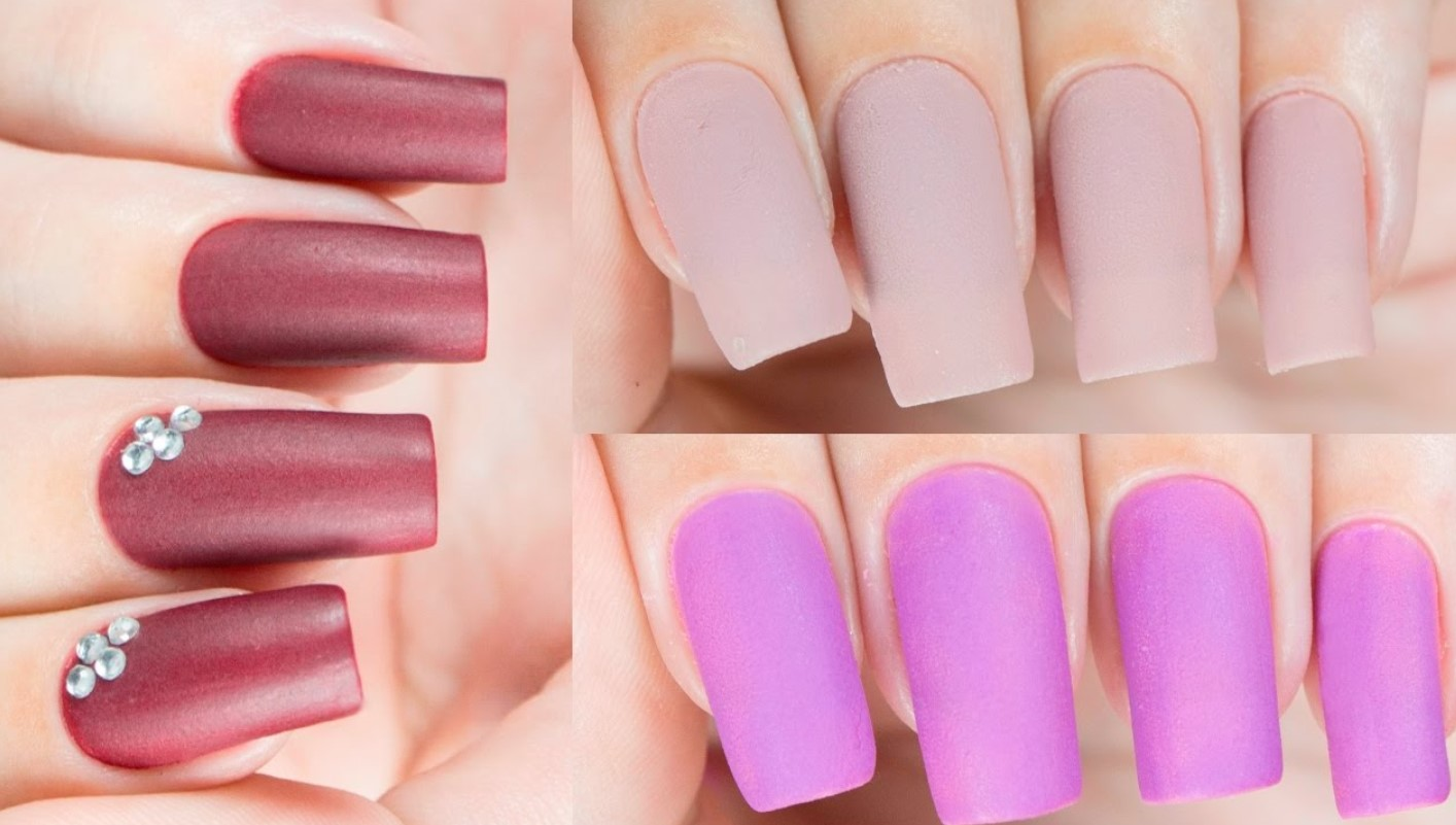 70 One Of A Kind Matte Nails Art To Boost Your Appearance Yve Style Com