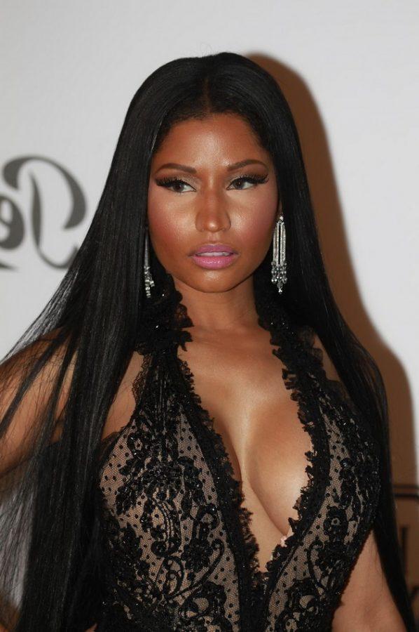 Nicki Minaj long haircut
