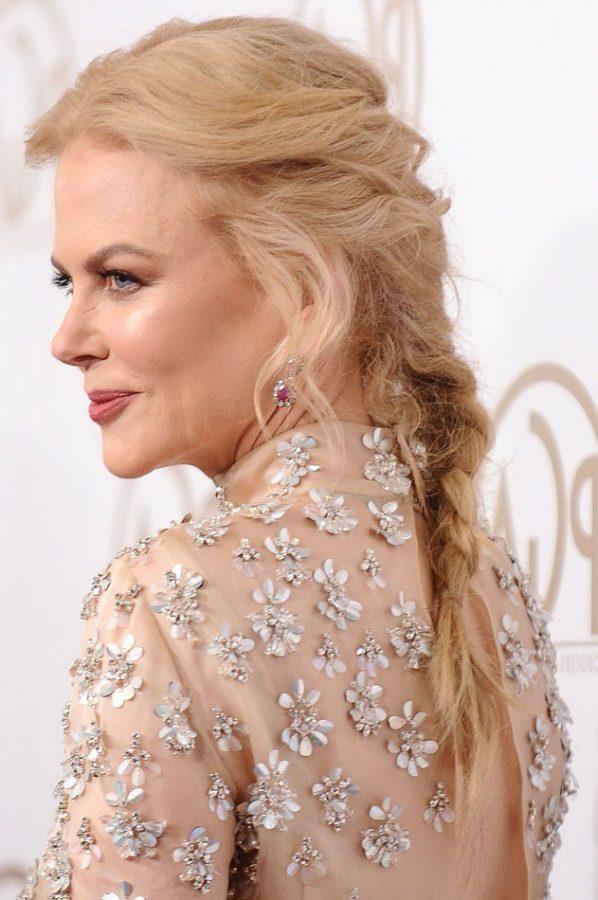 Nicole Kidman long haircut