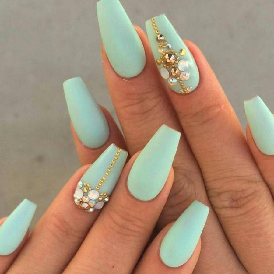 acrylic nails matte