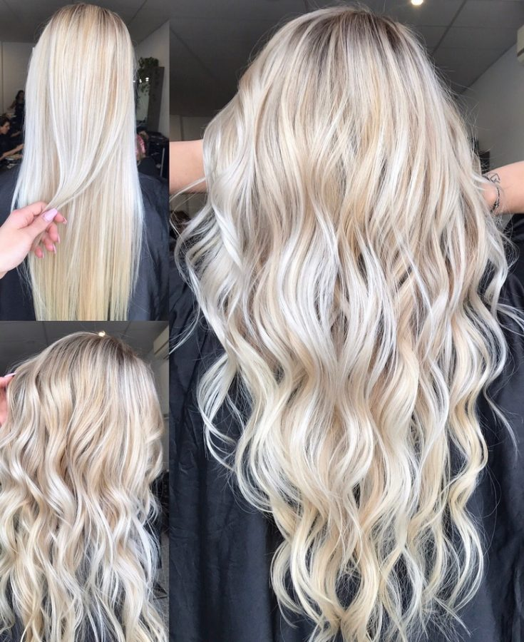 aesthetic hairstyles for long blonde hair