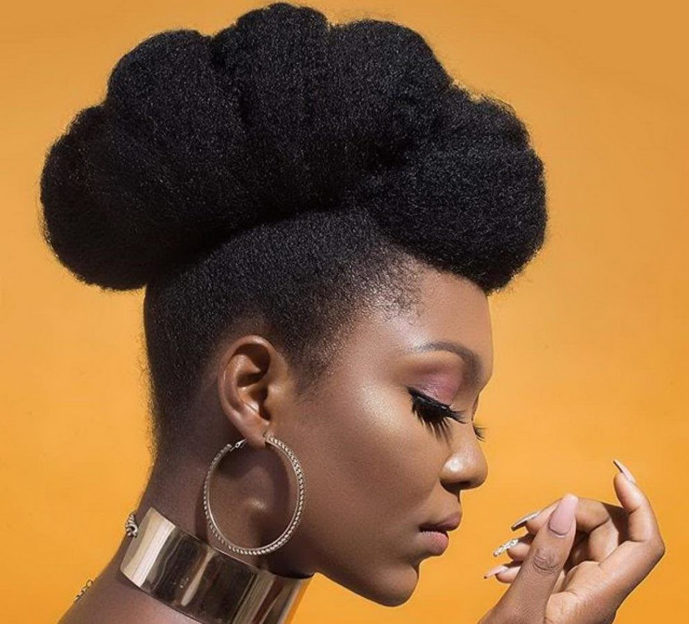 aesthetic natural hairstyles