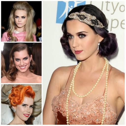aesthetic vintage hairstyles