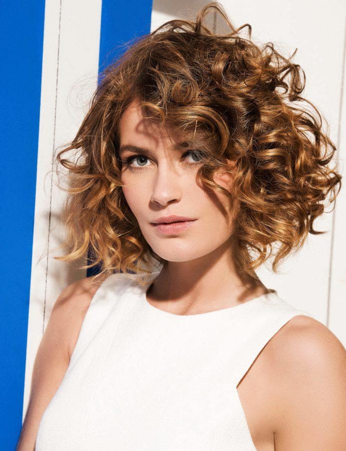 curly shag haircut