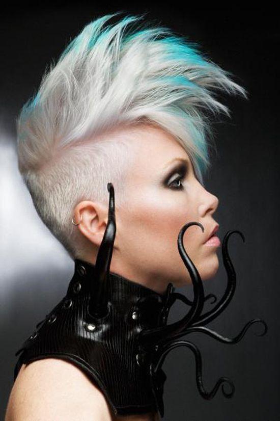 cyberpunk punk hairstyles
