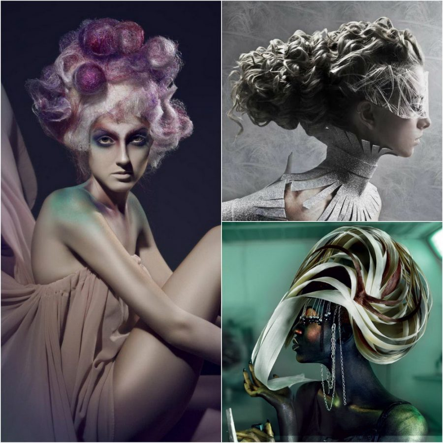 fantasy hairstyles and makeup