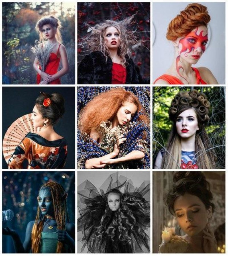 fantasy hairstyles long hair