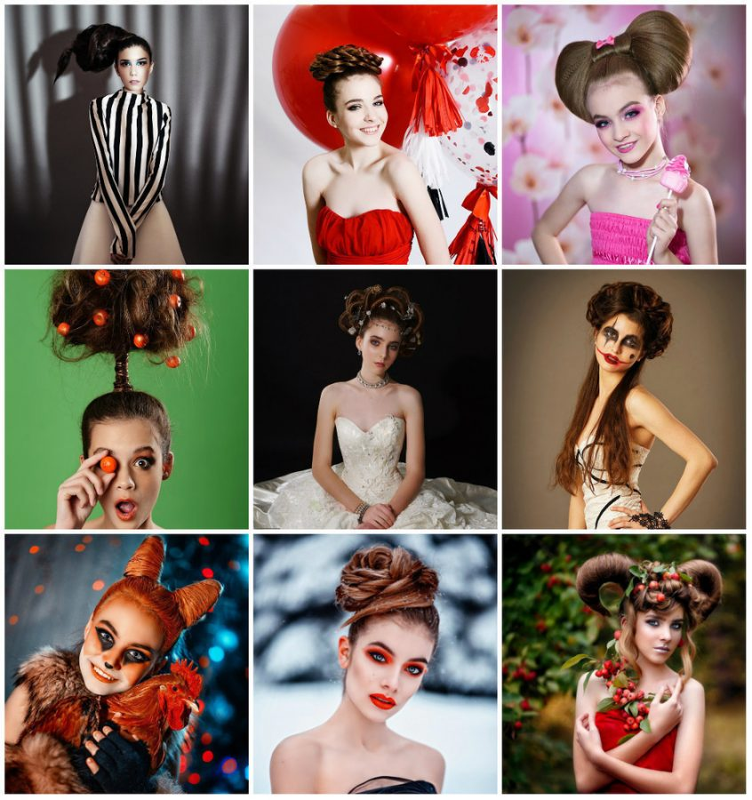 girls hairstyles fantasy