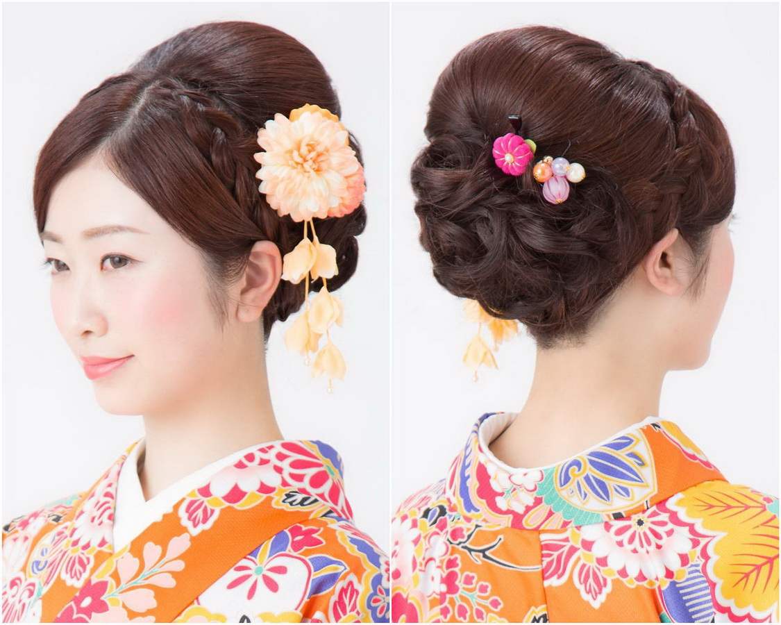 23 Best Kimono Hairstyles For Traditional And Modern Women Yve Style Com