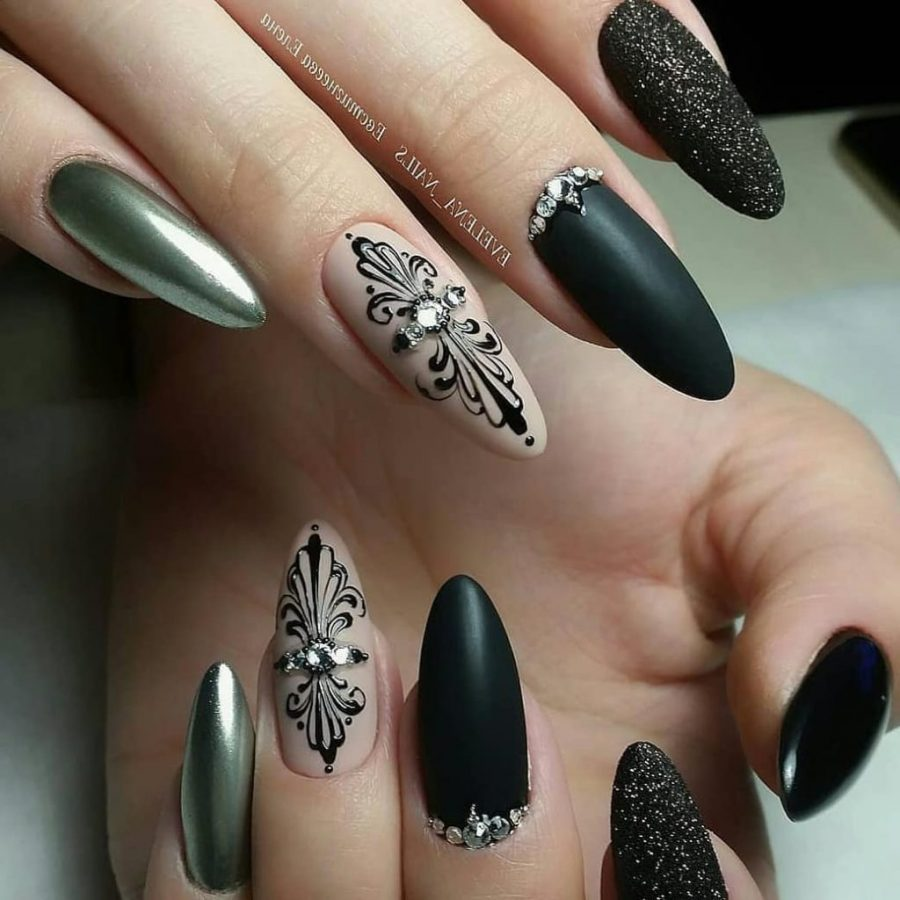 long Classic nails