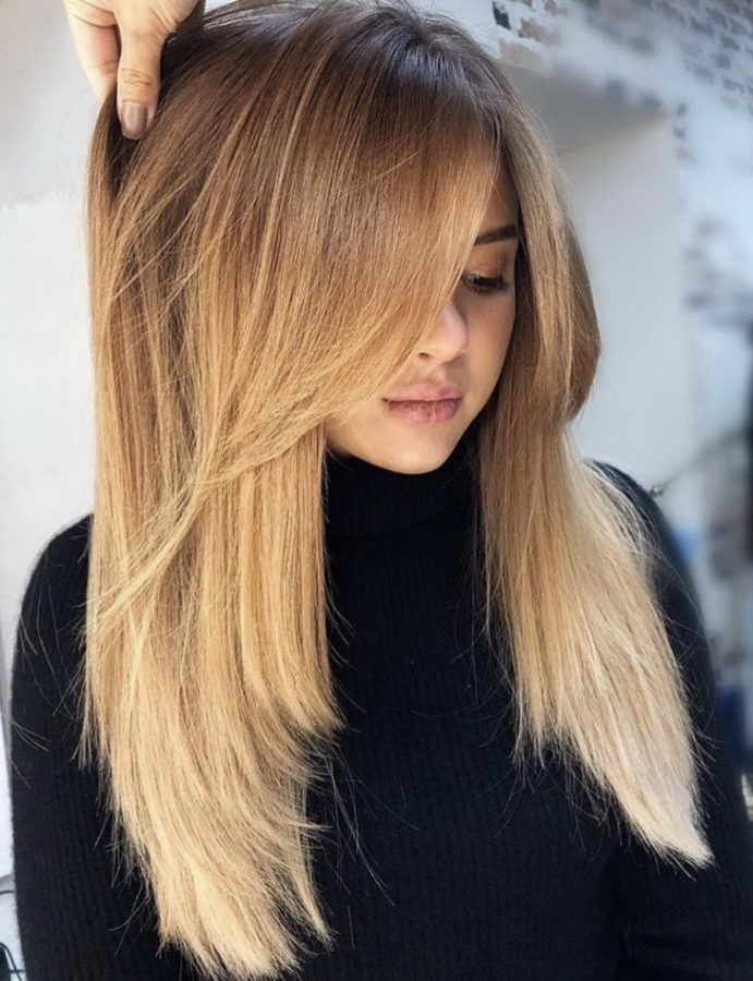 long layered haircuts for thick hair