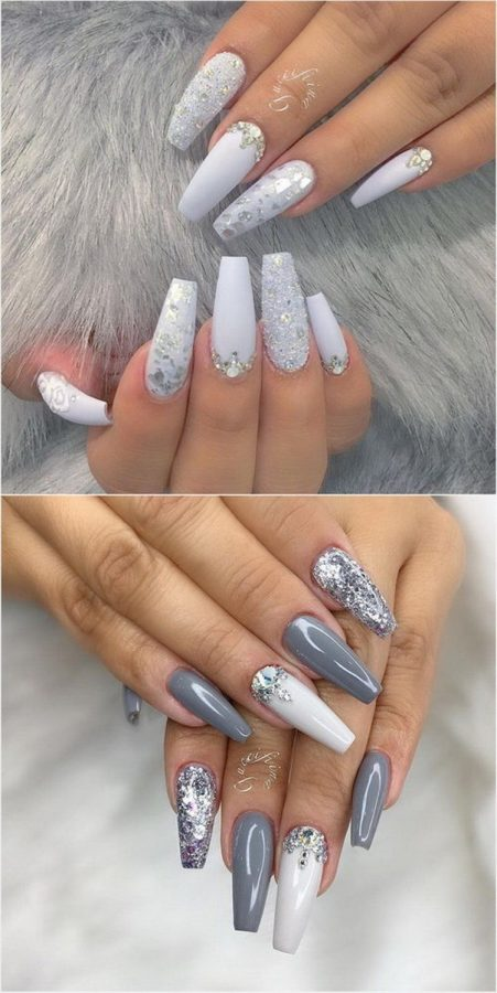 long pretty nails