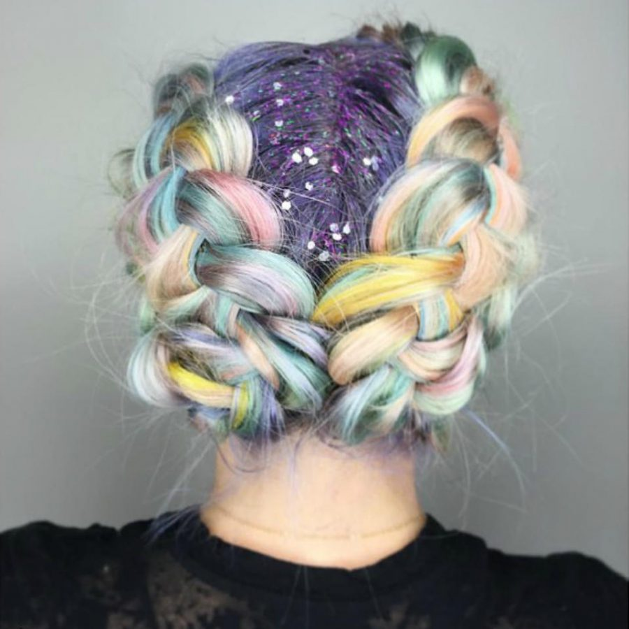 mermaid hair braid