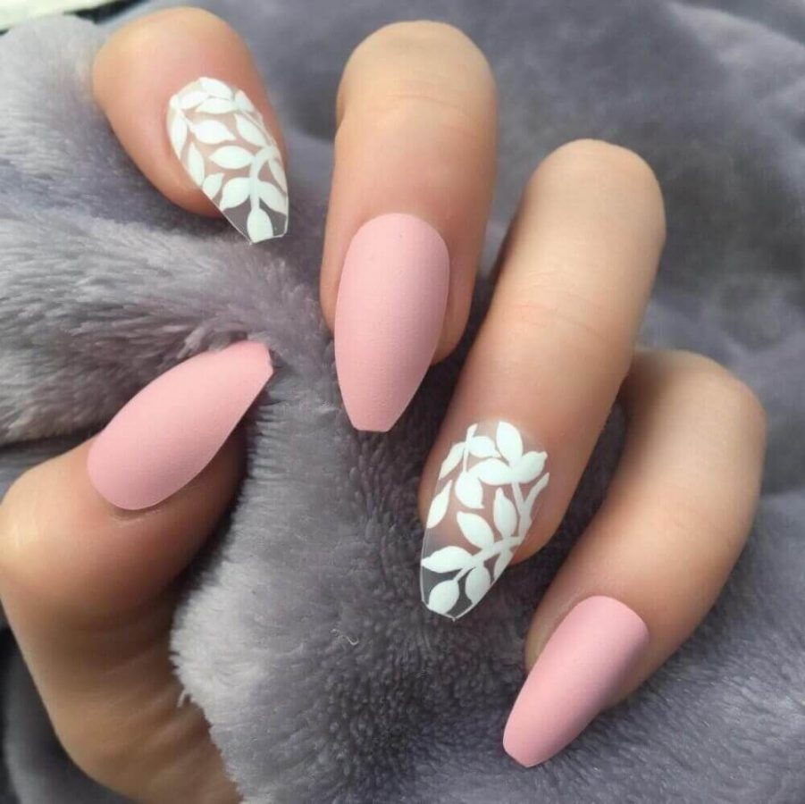nude nails matte