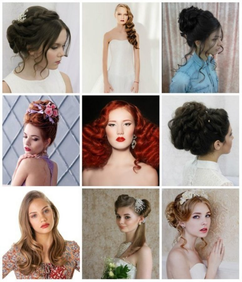 princess fantasy hairstyle