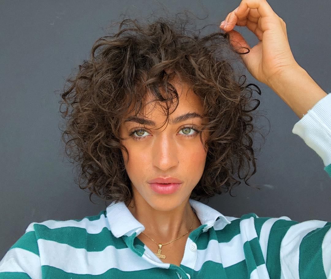 shag haircut for thick hair